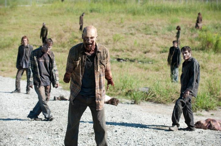 Walkers - The Walking Dead - Season 3, Episode 11 - Photo Credit: Gene Page/AMC