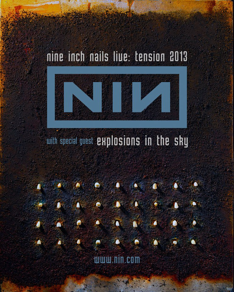 Nine Inch Nails: Tension Tour 2013 | Dawning Creates